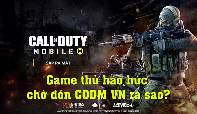Game thủ Việt không thể chờ được nữa để đặt tay vào Call of Duty: Mobile VN