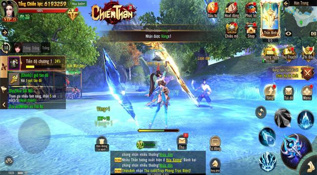Chiến Thần 3D mang đến bữa đại tiệc về hình ảnh cho người chơi