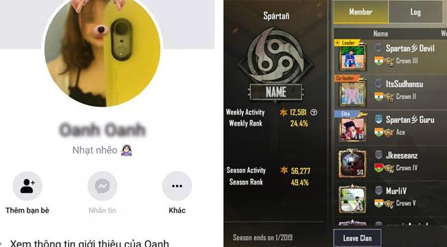 PUBG Mobile: Nữ game thủ bố đời, xin vào clan chỉ để… chửi rồi đi ra