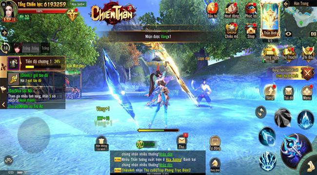 Chiến Thần 3D Mobile mang đến lối chơi nhanh – mạnh đầy đã tay