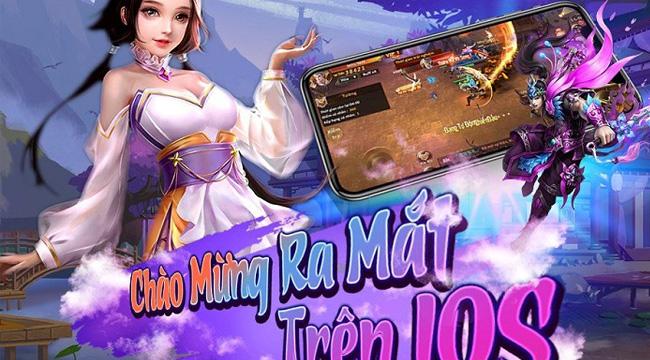 Tiên Ma Truyền Kỳ hé lộ phiên bản iOS sau 2 tháng ra mắt