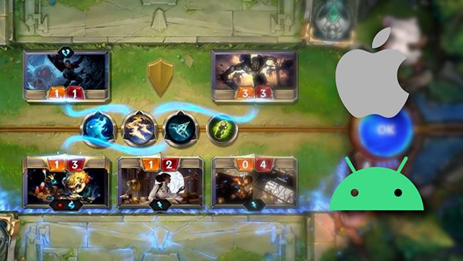 Huyền Thoại Runeterra mobile ra mắt trước cho Singapore, game thủ rần rần tải về
