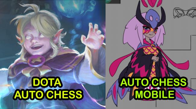 Invoker sắp được chuyển giới trong Auto Chess Mobile