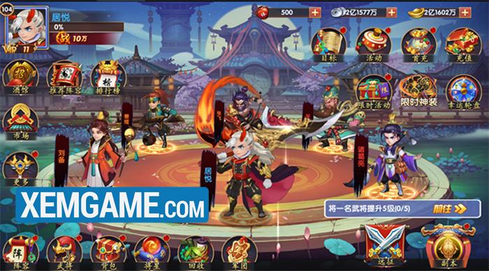Thiên Long Tam Quốc   XEMGAME.COM