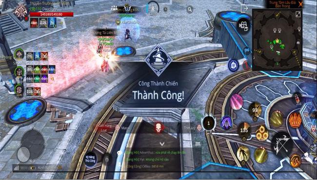 Trận Công Thành Chiến đầu tiên của game thủ AxE: Alliance X Empire VN diễn ra như thế nào?