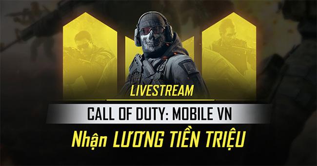 """""""Nhận lương tiền triệu từ Call of Duty: Mobile VN"""" là thông điệp mà VNG muốn gửi đến cho giới trẻ"""