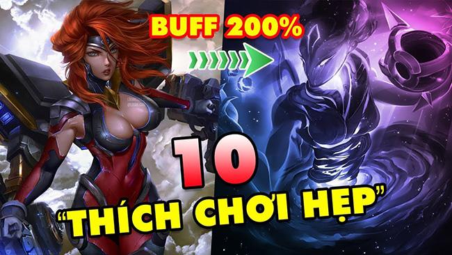 LMHT: TOP 10 vị tướng BUFF 200% sức mạnh khi combat trong địa hình chật hẹp