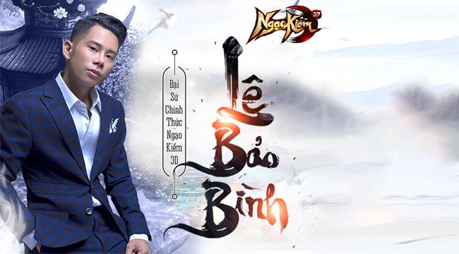 Sau Đàm Vĩnh Hưng thì Lê Bảo Bình là đại sứ thương hiệu tiếp theo của Ngạo Kiếm 3D