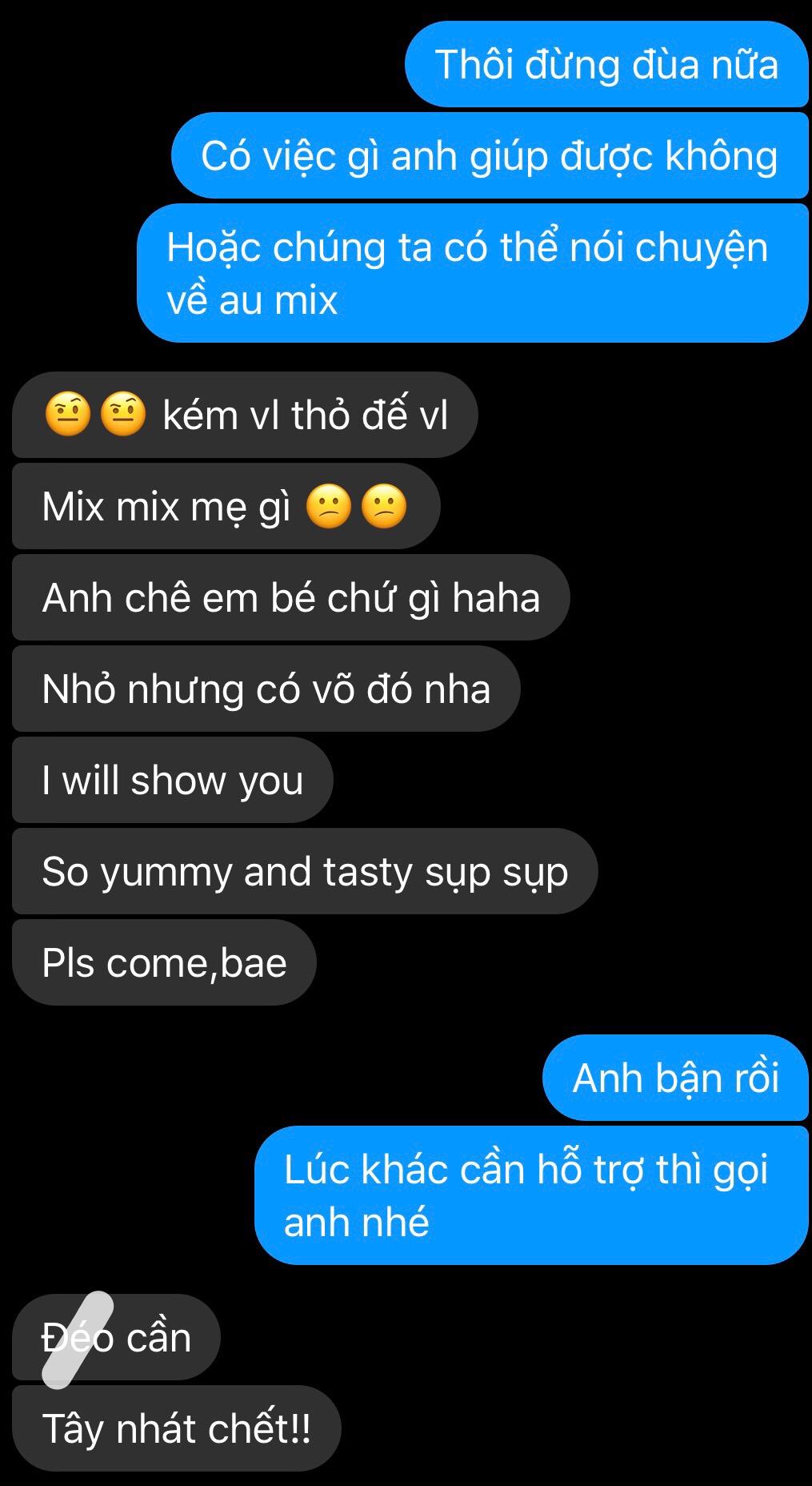 Admin trai tây của Au Mix Mobile bị em gái 2K gạ gẫm 6