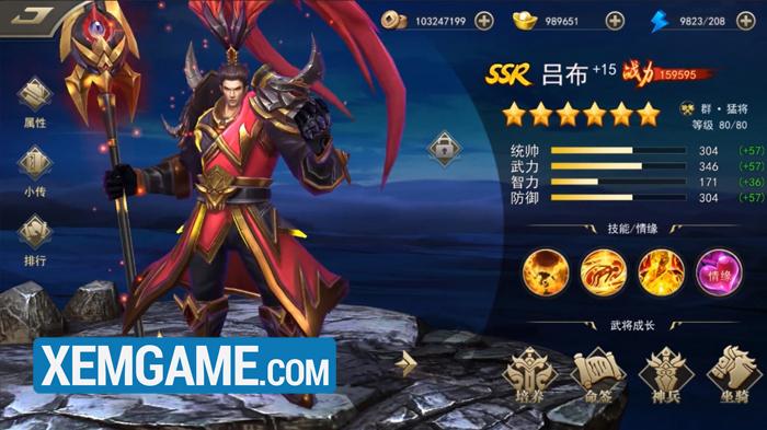 Tuyệt Đỉnh Tam Quốc | XEMGAME.COM