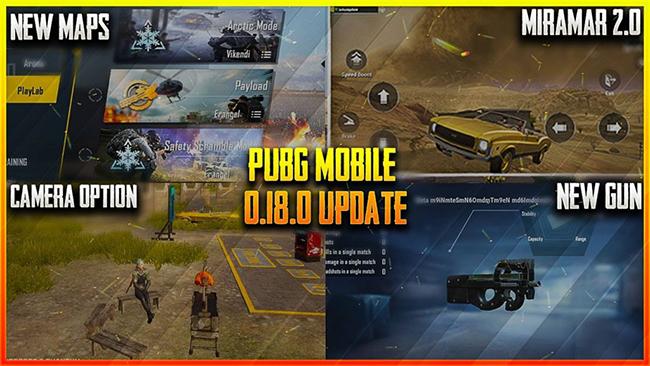 PUBG Mobile: Điểm qua những cập nhật siêu hot ở phiên bản 0.18