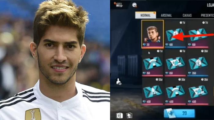 Nhân vật sắp xuất hiện trong Free Fire Mobile được lấy cảm hứng từ cầu thủ ngoài đời