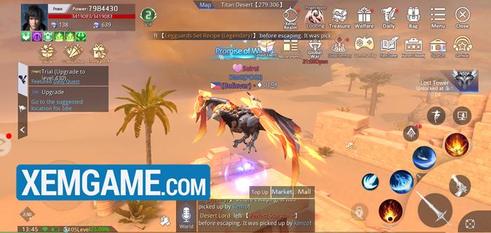 Kỷ Nguyên Huyền Thoại | XEMGAME.COM