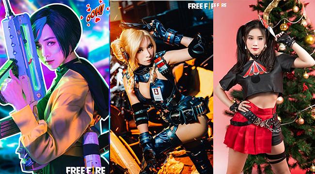 Mê mẩn với 10 màn cosplay đỉnh cao của Free Fire