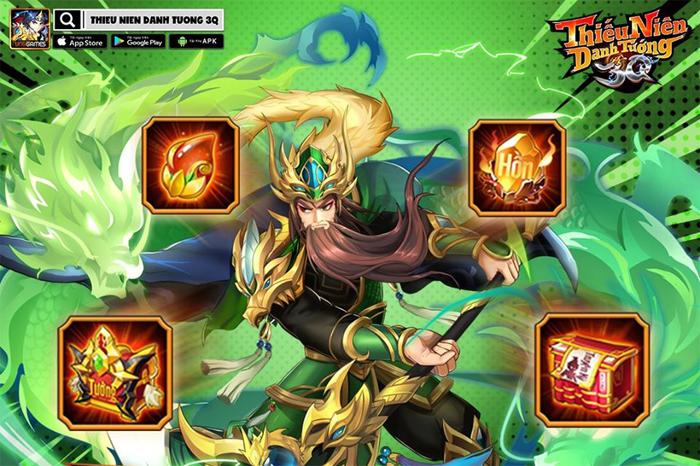 Thiếu Niên Danh Tướng 3Q game mobile Tam Quốc thế hệ mới được NPH VNG ra mắt Giftcode-thieu-nien-danh-tuong-3q