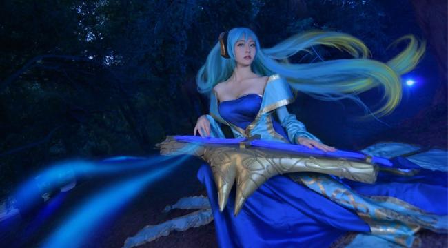 LMHT: Ngất ngây với vẻ đẹp yêu kiều của cosplay Đại Cầm Nữ Sona