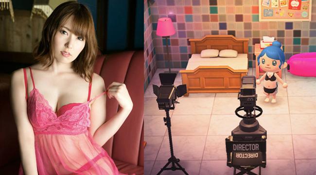 Nghỉ dịch rảnh rỗi, Yui Hatano xây cả phim trường 18+ trong game