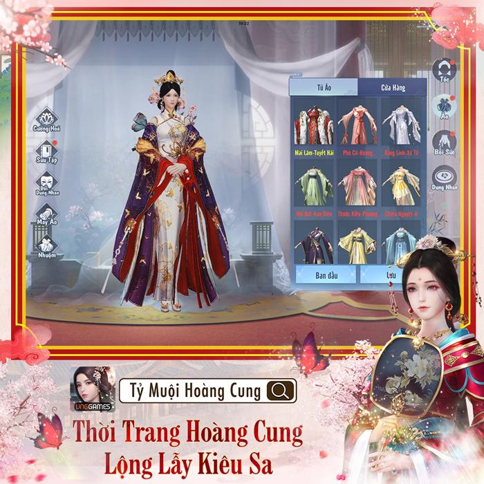 Game ngôn tình Tỷ Muội Hoàng Cung mở đăng ký trước 2