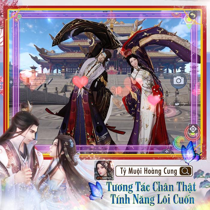 Game ngôn tình Tỷ Muội Hoàng Cung mở đăng ký trước 3