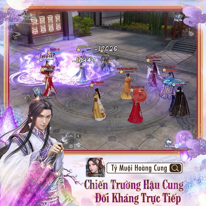 Game ngôn tình Tỷ Muội Hoàng Cung mở đăng ký trước 4
