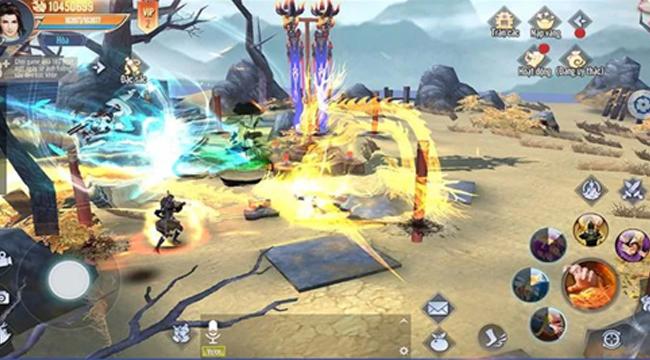 Lục Mạch Thần Kiếm 3D – tựa game đậm nguyên tác Kim Dung về Việt Nam
