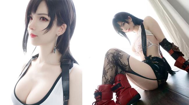 Bỏng mắt với cosplay Tifa phiên bản bốc lửa hơn cả phiên bản gốc