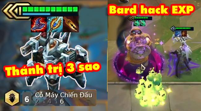 Các tướng mới Đấu Trường Chân Lý mùa 3 tỏ ra quá lỗi: Bard hack EXP, Urgot siêu diệt 3 sao