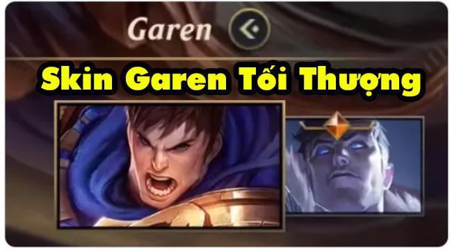 Liên Minh Huyền Thoại: Game thủ phát hiện Garen sắp có skin Tối Thượng
