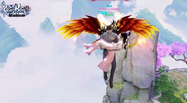 Kiếm Hồn 3D mở ra một thế giới mở rộng lớn kỳ ảo, PK trên không đầy độc đáo