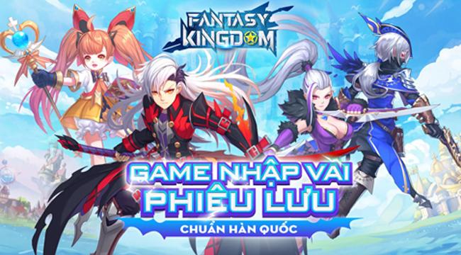 Fantasy KingDom M – Thánh Địa Huyền Bí chính thức cập bến VN