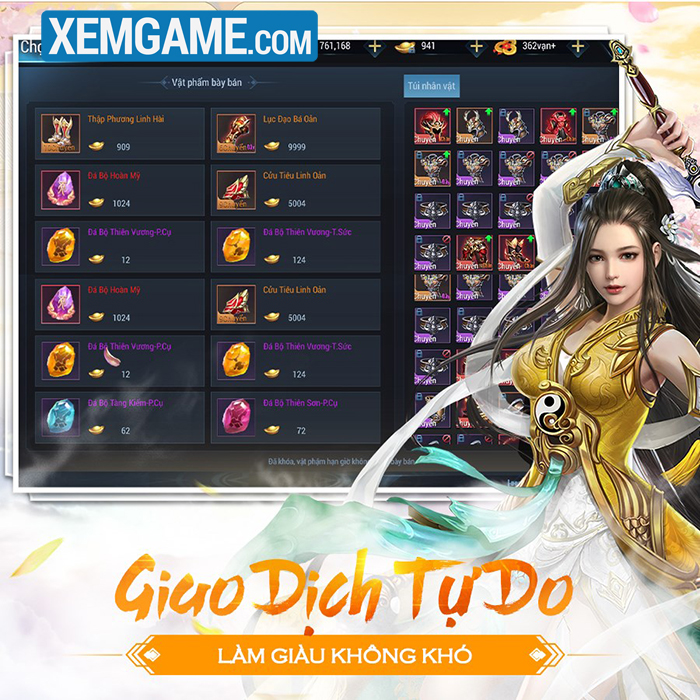 Kiếm Hiệp Tình 3D | XEMGAME.COM
