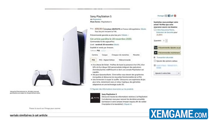 Game thủ nức lòng với giá bán cực hời của siêu phẩm PlayStation 5