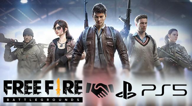 """Có hay không chuyện Free Fire được """"lên kệ"""" tại siêu phẩm Playstation 5?"""