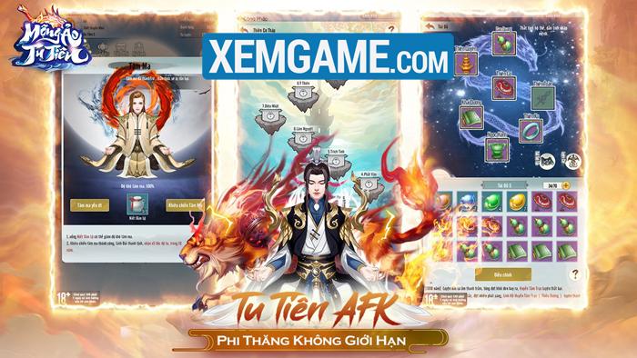 Mộng Ảo Tu Tiên | XEMGAME.COM
