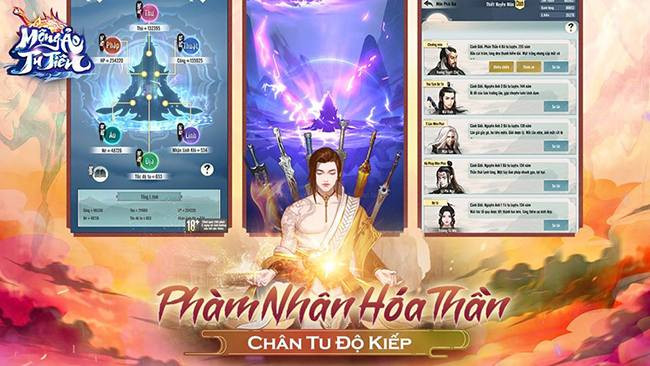 Mộng Ảo Tu Tiên – game ngồi thiền độ kiếp sắp được SohaGame phát hành