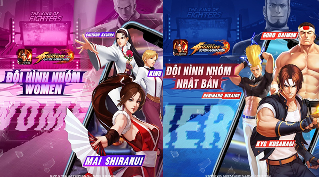 Gia nhập KOF AllStar VNG – Quyền Vương Chiến: Đừng bỏ qua các đội nhóm huyền thoại này!