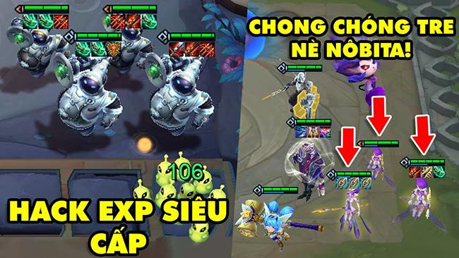 TOP khoảnh khắc điên rồ nhất Đấu Trường Chân Lý Số Đặc Biệt: Hack EXP siêu cấp, Chong chóng tre Janna