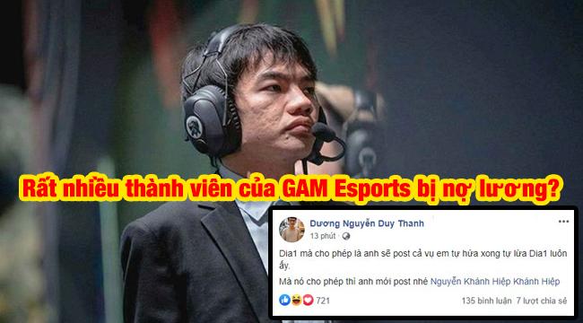 LMHT: Tinikun bất ngờ hé lộ chuyện rất nhiều thành viên của GAM Esports bị nợ lương