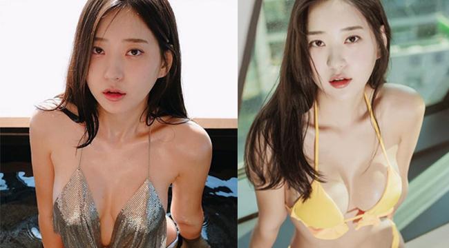 Nhan sắc cực phẩm của gái xinh Hàn Quốc sở hữu những đường cong chết người
