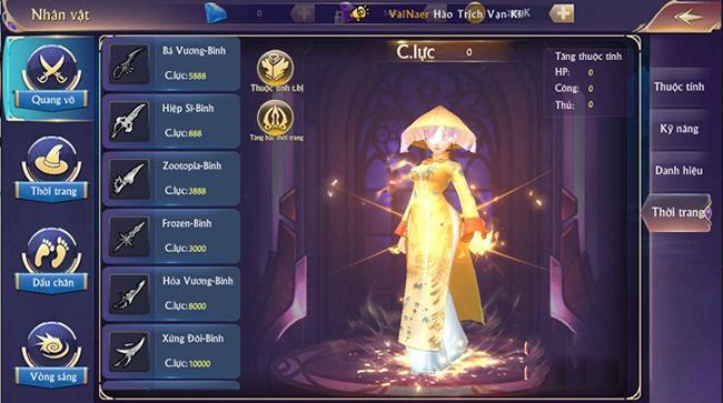 Người chơi Fantasy Kingdom M tự tin khoe cá tính với những bộ trang phục độc dị