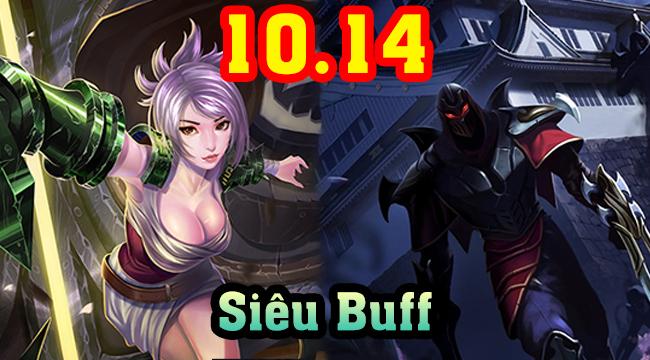 LMHT: Top 5 vị tướng được buff nhiều nhất 10.14 – Karthus trở lại đường đơn, Riven build chí mạng!!!