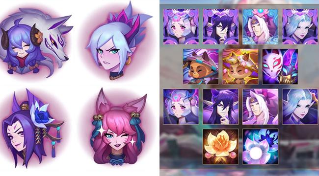 LMHT: Vũ trụ Hoa Linh Lục Địa mở rộng với 4 skin mới cho Riven, Kindred, Ahri và Cassiopeia