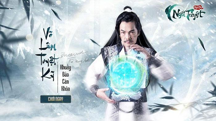 """""""Bố Sơn"""" VNDC trở thành đại sứ hình ảnh cho Hoa Sơn Ngũ Tuyệt"""