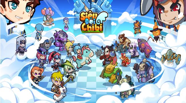 Siêu Đội Chibi – game mobile 5 thể loại cho game thủ tha hồ giải trí
