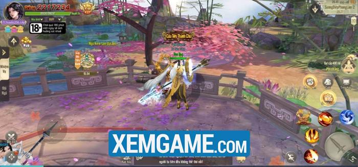 Game Long Kiếm Cửu Châu có đồ họa rực rỡ, chất chơi nhập vai tiên hiệp kinh điển 1