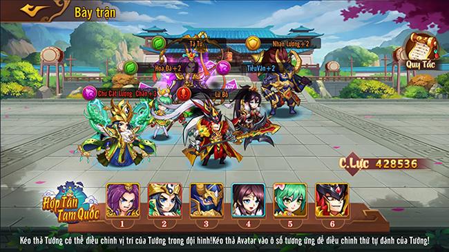 Hợp Tân Tam Quốc – game 3Q với đồ họa anime chuẩn bị ra mắt