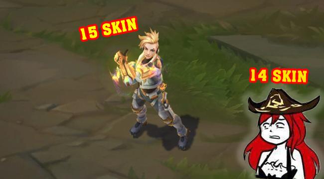 LMHT: Với skin SpecOps, Ezreal chiếm sóng Miss Fortune thành vị tướng có nhiều skin nhất