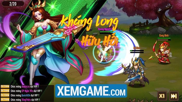 Võ Thần Tam Quốc | XEMGAME.COM