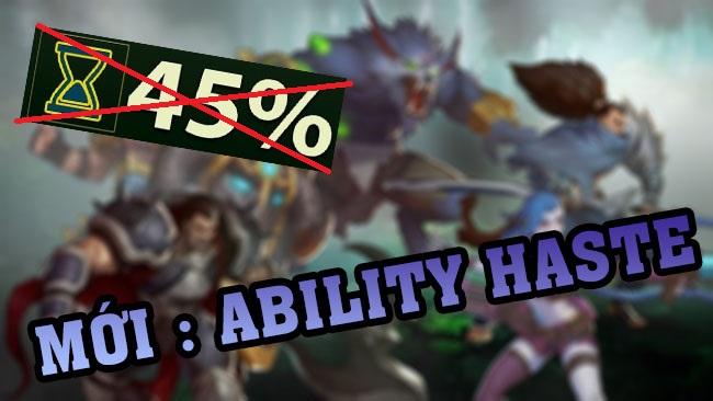 LMHT: Riot Games làm lại chỉ số giảm hồi chiêu, thay bằng Ability Haste – có thể vượt quá 45%!!!