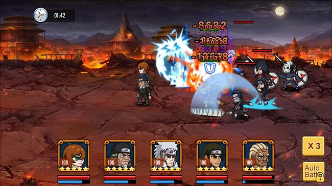 Đại Chiến Nhẫn Giả đã vẽ nên một thế giới ninja đầy chân thực